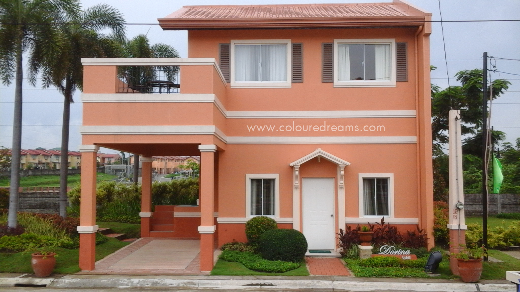 Camella silang tagaytay drina house and lot for sale in tagaytay city - 01 Dorina Uphill Model