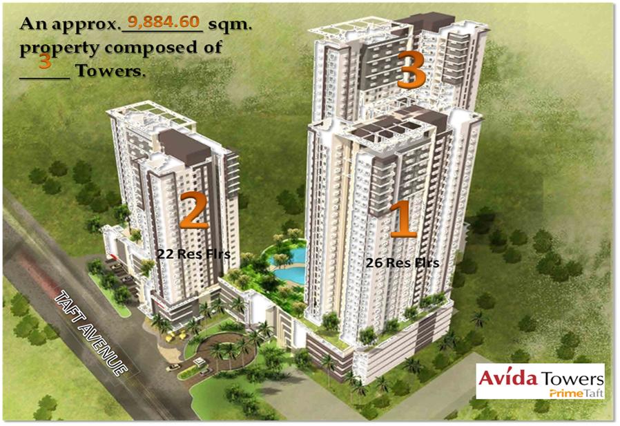 Avida Towers Prime Taft Coloured Dreams Realty