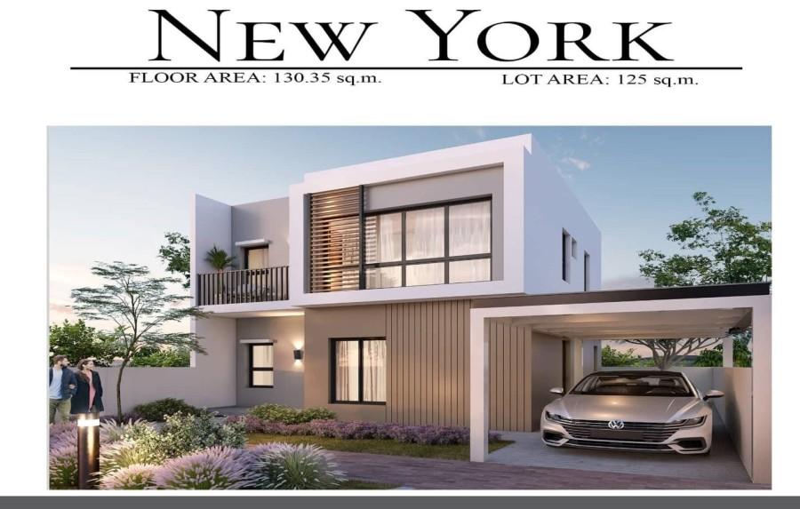 New York Model House crop